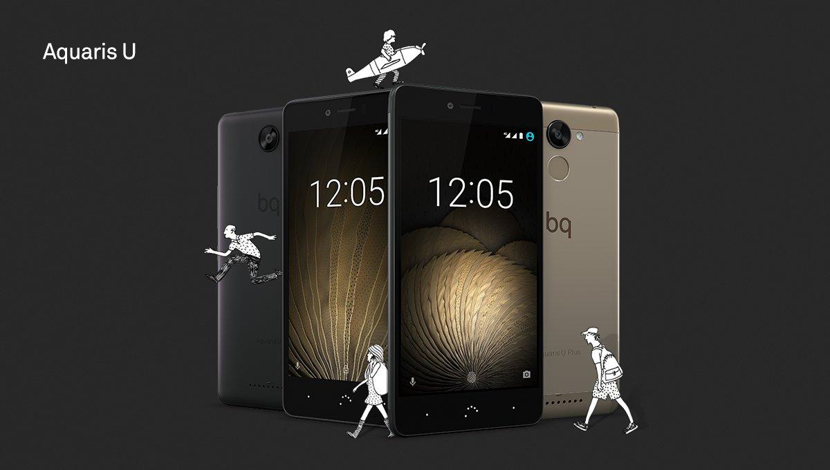 Actualizar BQ Aquaris U, Lite y BQ Aquaris U Plus a Android 7 Nougat
