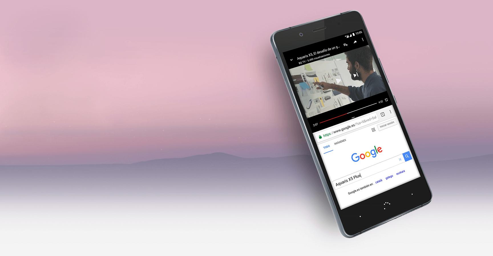 Actualización BQ Aquaris X5 Plus a Android 7.1 Nougat ya disponible
