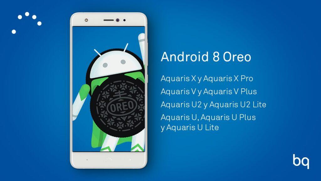 Android Oreo para BQ