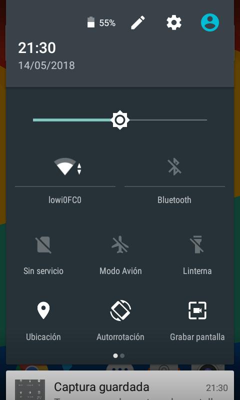 Aplicación para grabar la pantalla del móvil android