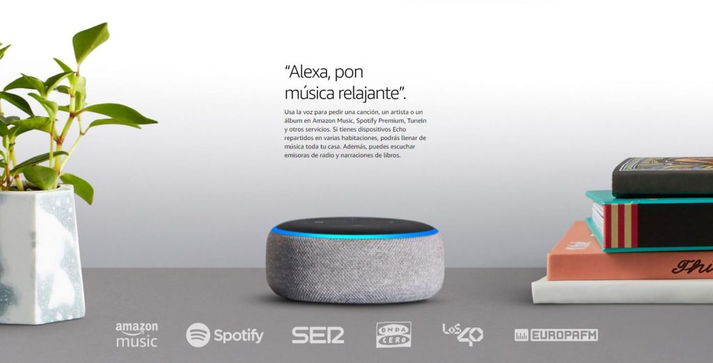 Amazon Echo Dot Comprar